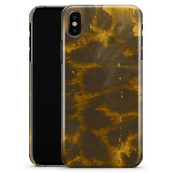 Micro Golden Giraffe Pattern - iPhone X Clipit Case