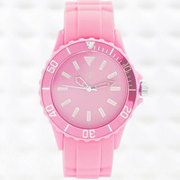 Colour Pop Watch in Pink - Urban Outfitters