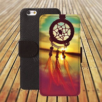iphone 5 5s case dream catcher sun colorful iphone 4/4s iPhone 6 6 Plus iphone 5C Wallet Case,iPhone 5 Case,Cover,Cases colorful pattern L293