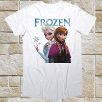 FROZEN, princess anna and elsa Funny Shirt for t shirt Mens and t shirt Girl