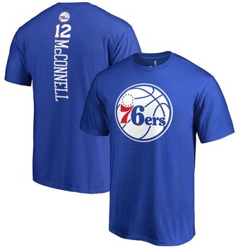 Men's Philadelphia 76ers T.J. McConnell Fanatics Branded Royal Backer T-Shirt