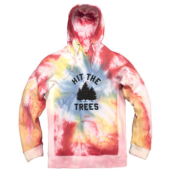 Mile High - Hit the Trees Tie Dye Hoodie