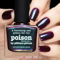Picture Polish Poison Nail Polish (Limited Edition Collection)