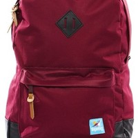 GiganticsThe Fletcher Backpack in Navy & Maroon -
