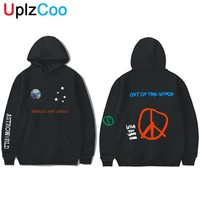 UplzCoo Astroworld Hoodies Spring Autumn Streetwear Pullover Travis Scotts Young Men Women FashionHip Hop Printing Hoodies OA125