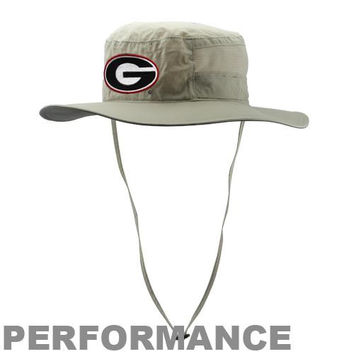 Columbia Georgia Bulldogs Collegiate Bora Bora Booney II Performance Hat - Khaki