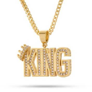 Snoop Dogg x King Ice - The Crowned King Necklace