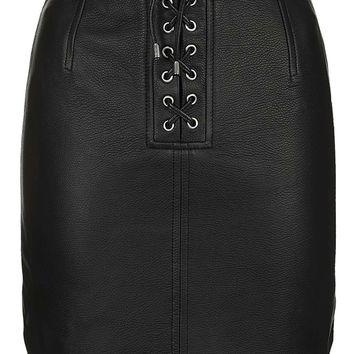 **Swinton Mini Skirt By Unique | Topshop