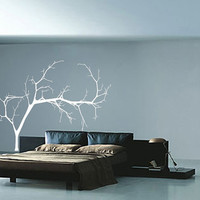 Wall Decal Bare Tree 4 Large Vinyl Wall Decal 22223