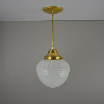 Antique Acorn Pendant Light