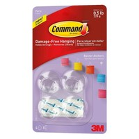 Command™ Party Banner Anchors, 4-Anchors, 8-Strips