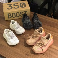 Kids Adidas Yeezy Boost 350 v2 Sneakers - Best Online Sale