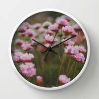 Pale Pink Wall Clock by Hello Twiggs