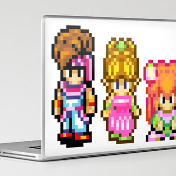 Secret of Mana Characters Laptop & iPad Skin by Nerd Stuff | Society6