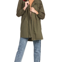 Women's Embroidered Utility Jacket