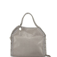 Stella McCartney Mini Falabella Crossbody Bag, Gray