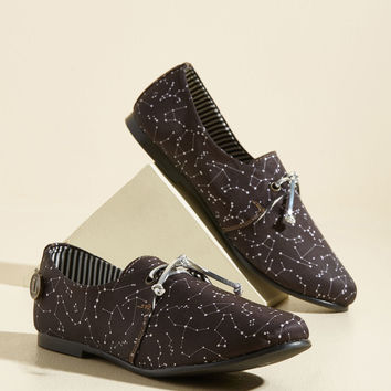 Star for the Course Flat | Mod Retro Vintage Flats | ModCloth.com