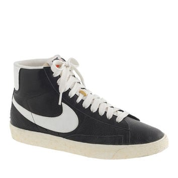 J.Crew Women's Nike Blazer Mid Vintage Sneakers In Black