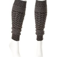 Sparkly Chevron Leg Warmers by Charlotte Russe