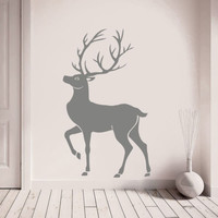 Wall Decal Vinyl Sticker Deer Horn Deer Bedroom Nursery Kids Children r1379