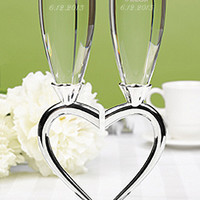 Personalized Heart-to-Heart Flute Set - David's Bridal - mobile