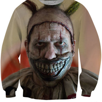 American Horror Story Twisty the Clown Crewneck Sweatshirt