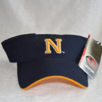 Navy Midshipmen Blue Visor Hat - NCAA Baseball Golf Cap
