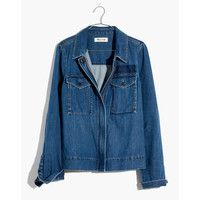 Denim Army Swing Jacket : shopmadewell denim jackets | Madewell
