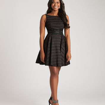 Madison James 17-107 A-line Homecoming Cocktail Dress