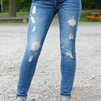 Miss Me Distressed Skinny Jeans