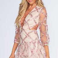 Afternoon Tea Embroidered Dress