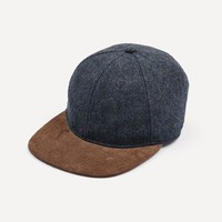 Woolen Cap in Midnight Blue