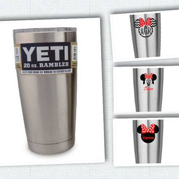 Personalized YETI ~ Perfect gift for Disney lover ~ personalized yeti cup 2ooz - can use any design