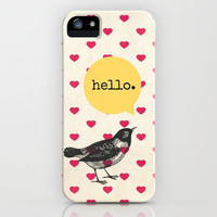 Hello. iPhone Case by Sreetama Ray | Society6