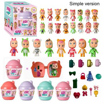 Cry Baby Dolls Magic Reborn Baby Silicone Girl Toys Children Surprise Gifts