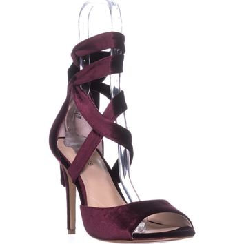 Charles David Rebecca Pointed Toe Classic Dress Pumps, Cabernet, 9.5 US