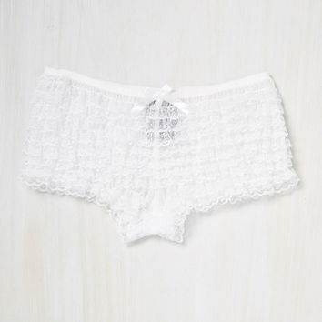 My Sweetest State Panties in White | Mod Retro Vintage Underwear | ModCloth.com