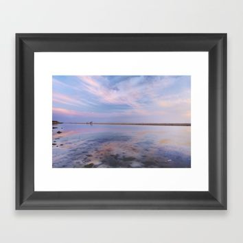 """Heaven walk"". Tarifa beach Framed Art Print by Guido Montañés"