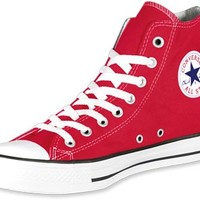 Converse All Star Hi shoes red