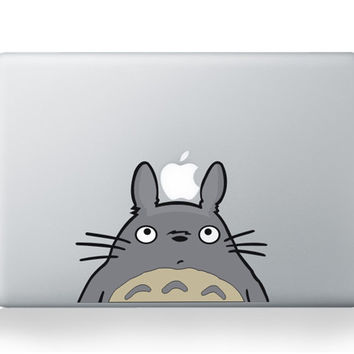 My Neighbor Totoro DIY Personality Vinyl Decal Sticker for Apple Macbook Pro Air 13 inch Laptop Case Cover Cartoon Skin Sticker
