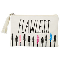Flawless Makeup Bag - Natural