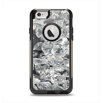 The Scattered Diamonds Apple iPhone 6 Otterbox Commuter Case Skin Set