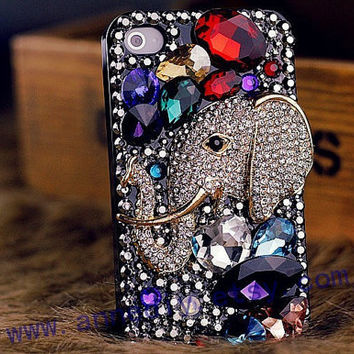 samsung galaxy s3 cover case, crystals iphone 5 case, gems iphone 4s case,handmade iphone 4 cases