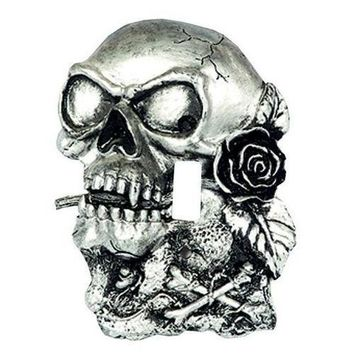 LIGHT SWITCH COVER SKULL