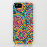 Boho Patchwork-Eden colors iPhone & iPod Case by Groovity