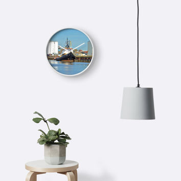 '1950s Tugboat Gluvias' Clock by Malcolm Snook
