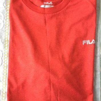 FILA Mens Sleeveless Sport Shirt Size M
