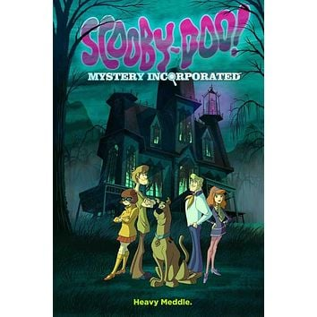 Scooby-Doo! Mystery Incorporated 11x17 TV Poster (2010)