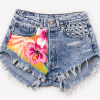 The Flora High-Waisted Shorts from ShopWunderlust