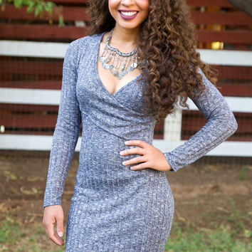 Shop Priceless Bria Dress - Blue